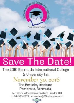 Bermuda College Fair 2016 (poster courtesy Bermuda College)